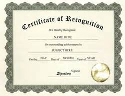 Recognition Certificate Wording Certificate Of Achievement Wording Planner Template Free