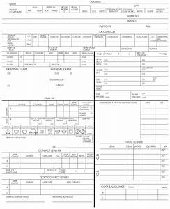 Basic eye exam form sheets pictures to pin on pinterest for Ophthalmology exam template