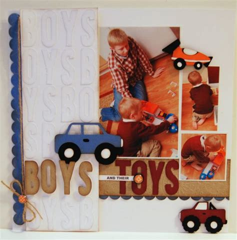 scrapbooking layouts    favorite scrapbook page