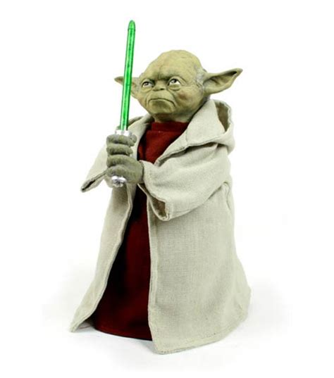 yoda light up tree topper this your christmas tree must have