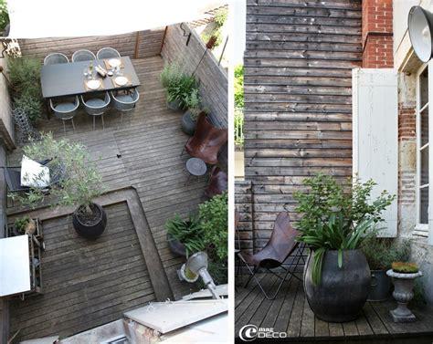 deco terrasse maison de ville terrasse pinterest