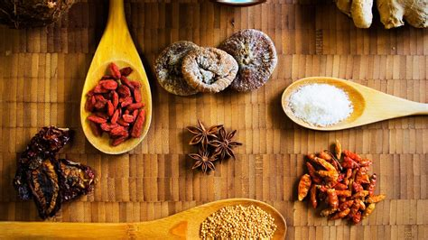 food spice spoons wallpaper