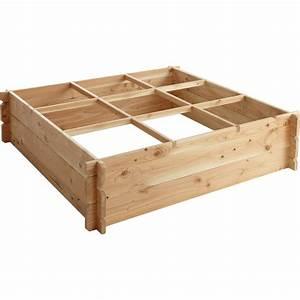 Mini Potager En Bois : r aliser un carr potager en bois ~ Premium-room.com Idées de Décoration