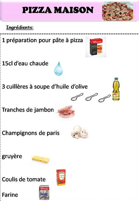 jeux de cuisiner des pizzas fiche recette maternelle qk63 jornalagora
