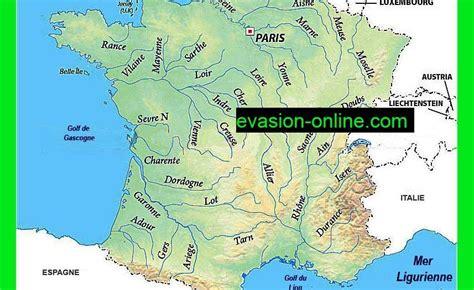 Carte De Avec Fleuves Et Rivières by Carte Des Fleuves De 187 Vacances Arts Guides Voyages