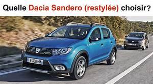 Dacia Sandero Laureate Essence : quelle dacia sandero restyl e choisir ~ Medecine-chirurgie-esthetiques.com Avis de Voitures