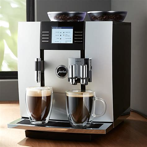 jura giga  espresso machine reviews crate  barrel