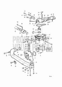 Volvo Penta Exploded View    Schematic Water Pump And