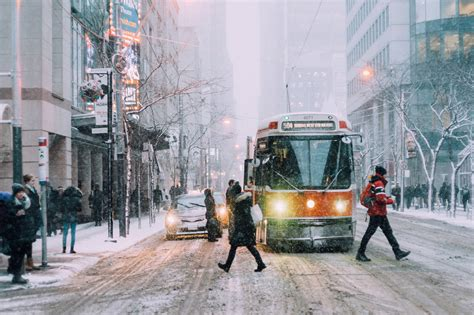 Toronto Is About To Be Engulfed By Winter Weather