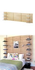 give your ikea mandal headboard shelves with this cool ikea hack ikea decora