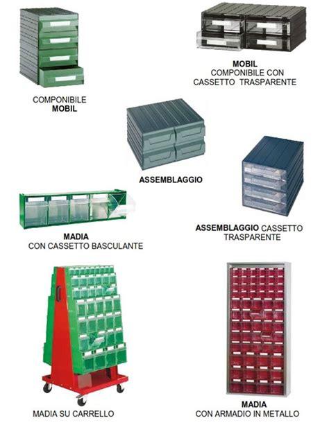 cassettiere in plastica in plastica scaffalature metalliche soppalchi e cantilever