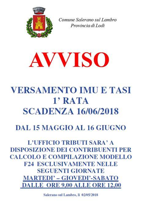 Comune Di Ufficio Imu by Tributi