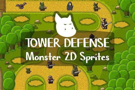 Tower Defense Game Tile Set Pack 2