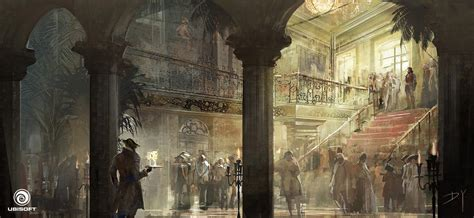 Assassins Creed Iv Black Flag Concept Art By Donglu Yu