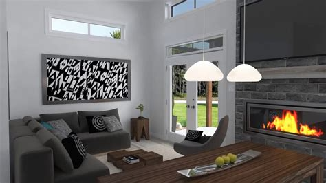 cost modern house plan drummond house plans plan youtube