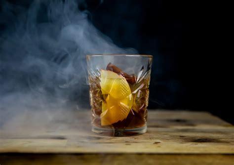 smoked  fashioned  apple  cinnamon