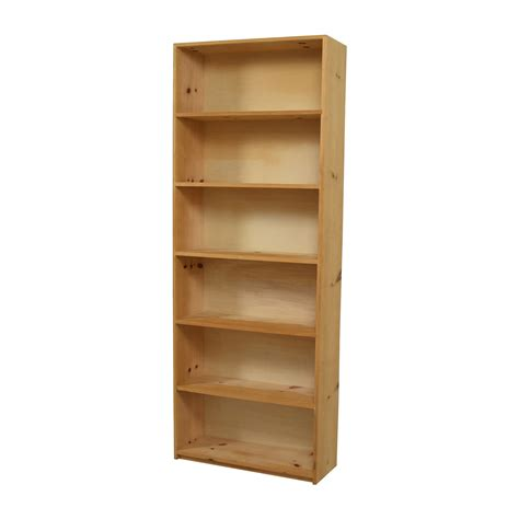 49% Off  Custom Tall Wooden Sixshelf Bookcase Storage