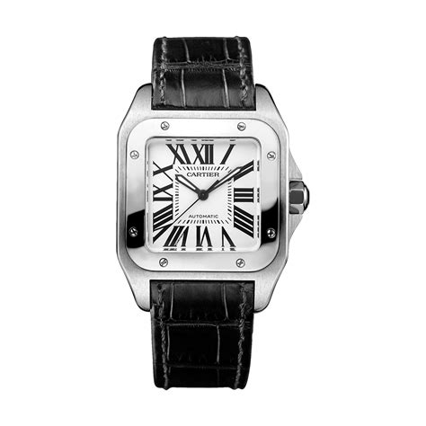 Cartier Santos 100 Watch, Medium Model  Cartier Santos. Gold And Silver Bangle Bracelets. Marni Necklace. Sphere Necklace. Repair Watches. Different Cut Diamond. Ocean Watches. Thin Gold Wedding Band. Star Necklace