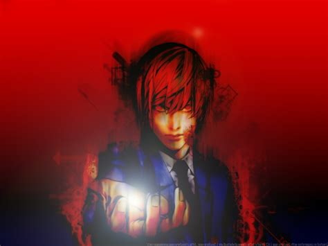 Light Anime Wallpaper - yagami light note wallpapers hd desktop and