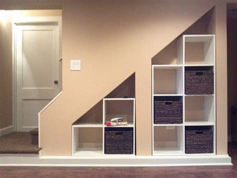 Cabinet With Basket Storage 50 hallway under stairs storage ideas to try in your