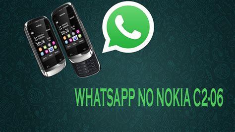 como baixar whatsapp para nokia c2 06