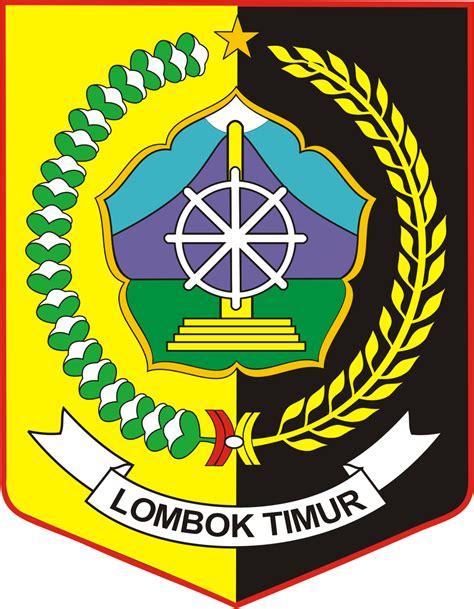 lambang kabupaten lombok timur kumpulan logo indonesia