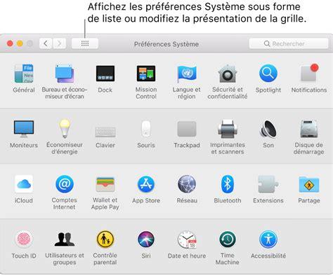 icone bureau mac personnaliser votre mac avec préférences système