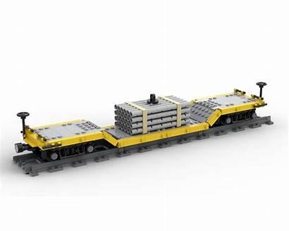 Moc Train Drop Lego Yellow Rebrickable Build