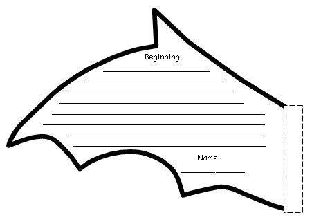 bat wing template stellaluna lesson plans teaching resources summary and activities author roald dahl