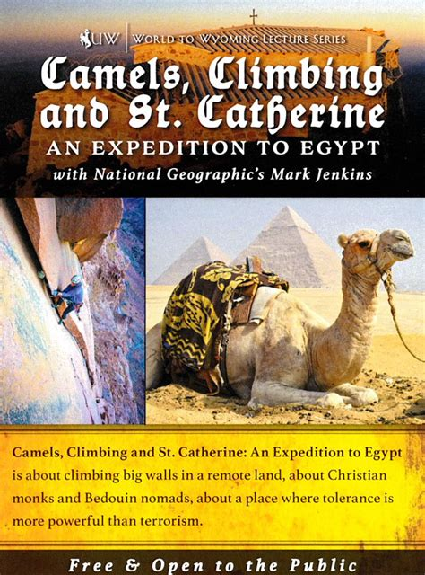 ewc host camels climbing st catherine expedition egypt