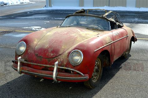 Another Porsche Speedster Barn Find