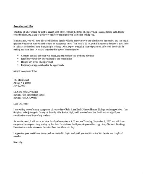 sle offer acceptance letter 9 download free thank you letter for phd sle letter not to accept offer