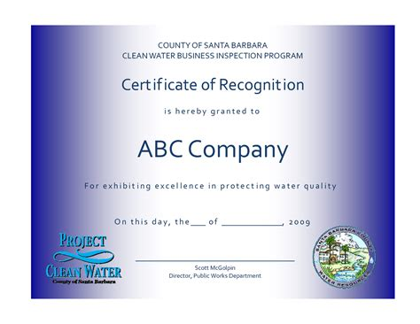 employee recognition certificates templates free 6 best images of sle appreciation certificates