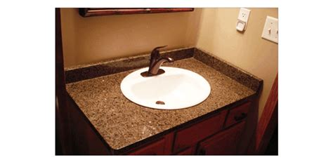 install overmount bathroom sink alan carmine flooring countertop solutions
