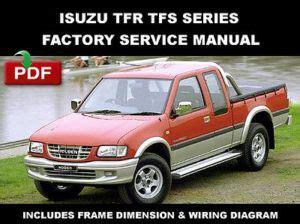 auto repair manual free download 1997 isuzu hombre engine control isuzu tfr tfs series 1997 2003 workshop service repair manual
