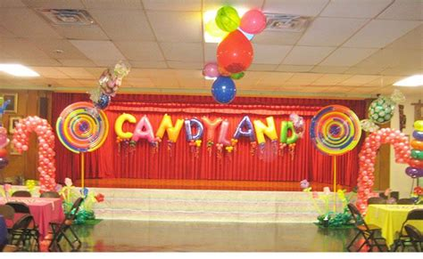 fun   candyland themed party