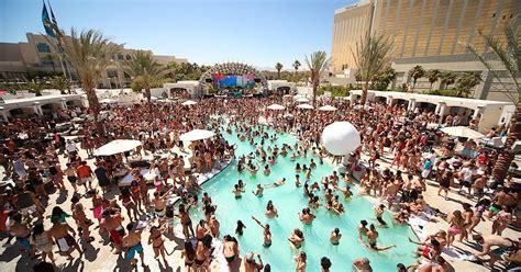 pool parties  las vegas thrillist