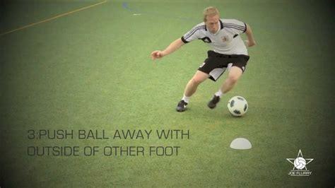How To Do The Step Over & Step Over Scissors Move  Football Soccer 1v1 Tutorial Youtube
