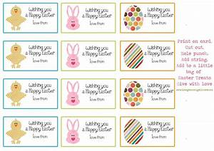 8 best images of free printable easter name tag labels With easter name tags template