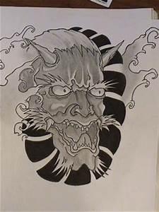 Demon Japonais Dessin : demon japonais et vagues fredo tattoo models ~ Maxctalentgroup.com Avis de Voitures