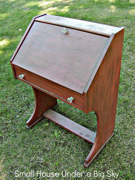 build wooden drop front desk plans plans download diy
