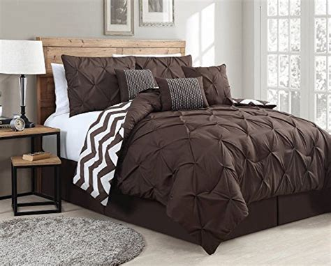 top 10 rich chocolate brown comforters for a bedroom
