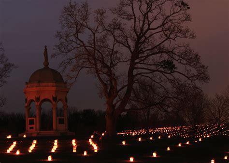 memorial illumination antietam national battlefield