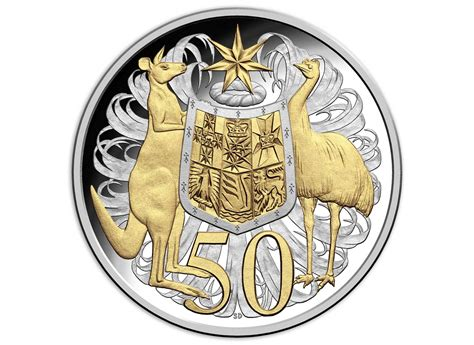 coins australia    fine silver selectively gold plated coin