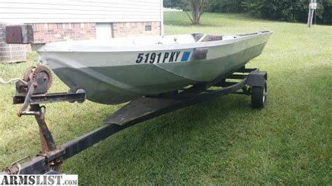 14 Ft Jon Boat by Armslist For Sale Trade 14 Ft Jon Boat