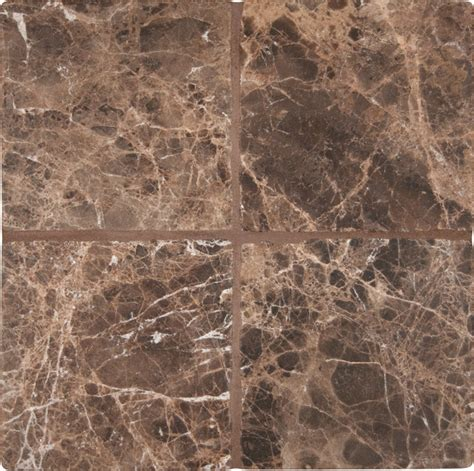 tumbled emperador marble tile traditional wall