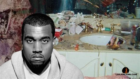 kanye west pays 85k to use whitney houston s infamous bathroom picture for pusha t s album cover