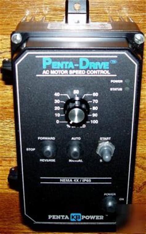 penta drive ac motor speed control adj frequency drive