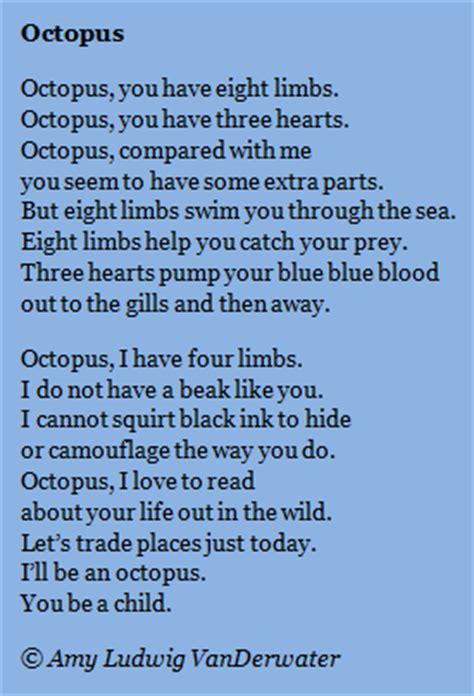 amy ludwig vanderwaters blog octopus poems  address
