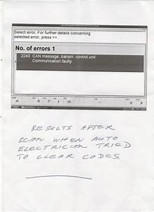 Cadillac U0101 Lost Communication With Tcm